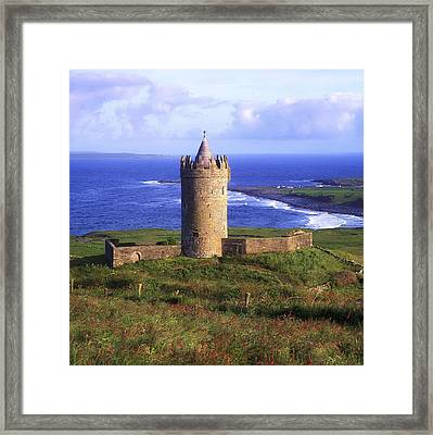 Doonagore Castle, Co Clare, Ireland Framed Print