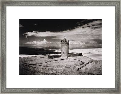 Doonagore Tower Framed Print by Simon Marsden