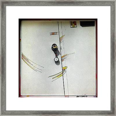 Door 1980 Framed Print by Glenn Bautista