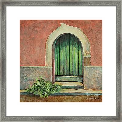 Door I Framed Print