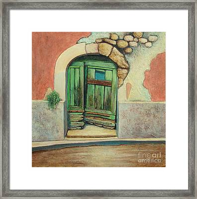 Door II Framed Print