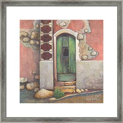 Door IIi Framed Print