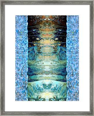 Door To Fantasy Framed Print by Marcia Lee Jones