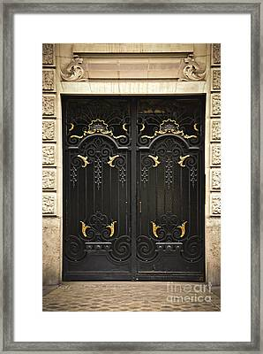 Doors Framed Print by Elena Elisseeva