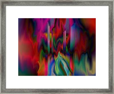 Doors In My Dream Framed Print