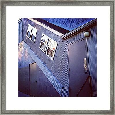Doorscape Framed Print by Amy DiPasquale