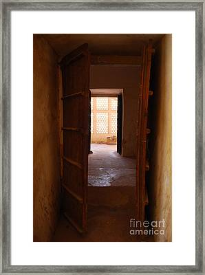 Doorway Framed Print