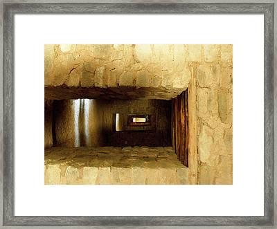 Doorways In A Row Framed Print by Feva  Fotos