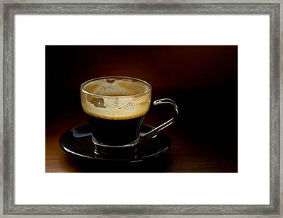 Doppio Minus One Framed Print
