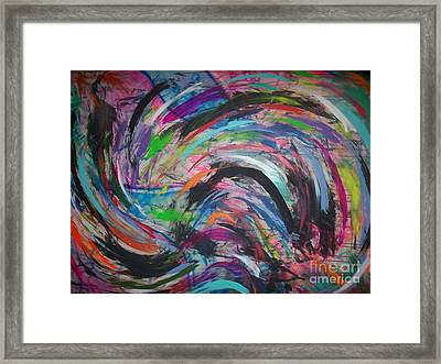 Doppler Framed Print