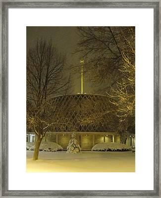 Framed Print featuring the photograph Dorcas Chapel by Tiffany Erdman