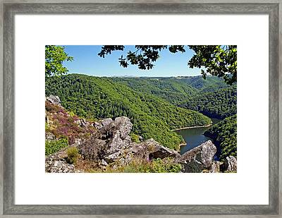 Dordogne Valley Framed Print