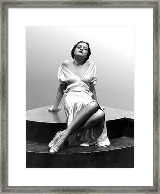 Dorothy Lamour, 18 Years Old, 1933 Framed Print
