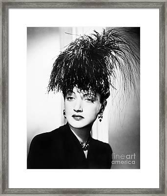 Dorothy Lamour (1914-1996) Framed Print by Granger