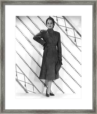 Dorothy Lamour, Paramount Pictures, 1939 Framed Print by Everett