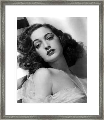 Dorothy Lamour, Paramount Pictures, 1943 Framed Print by Everett