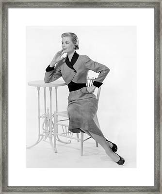 Dorothy Mcguire, 1950s Framed Print by Everett