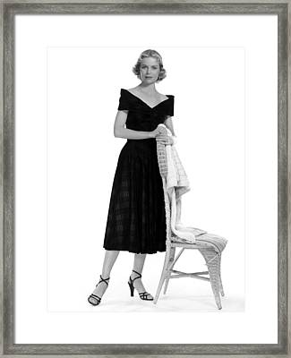Dorothy Mcguire, 1952 Framed Print by Everett