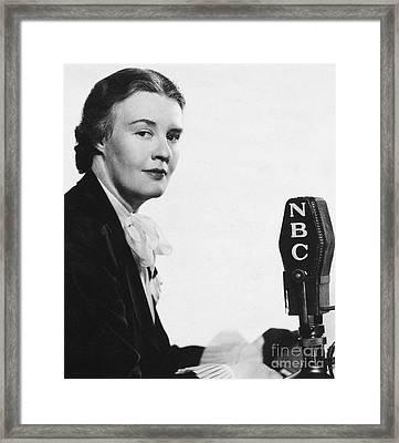 Dorothy Thompson Framed Print by Granger