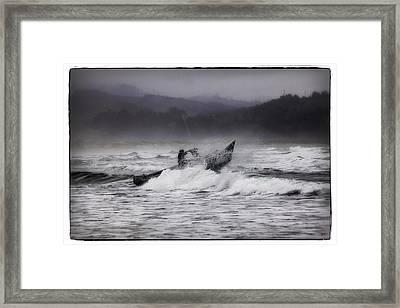 Dory Launch Framed Print