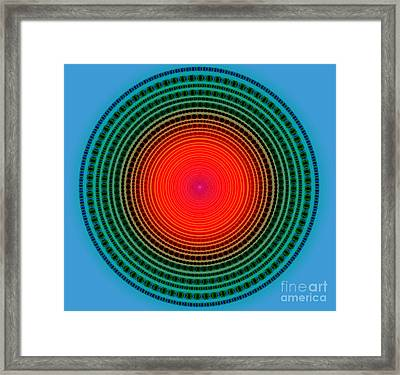 Dots X-ray Framed Print by Atiketta Sangasaeng