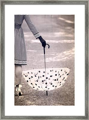 Dotted Framed Print by Joana Kruse