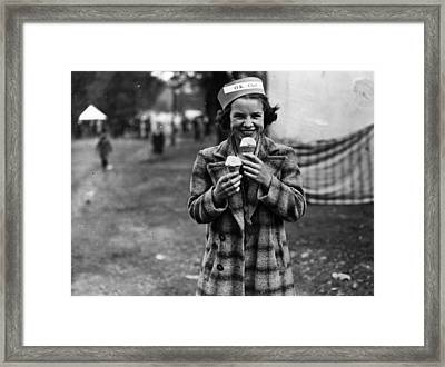 Double Dipper Framed Print