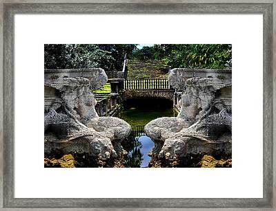 Framed Print featuring the photograph Double Mermaids by Harry Spitz