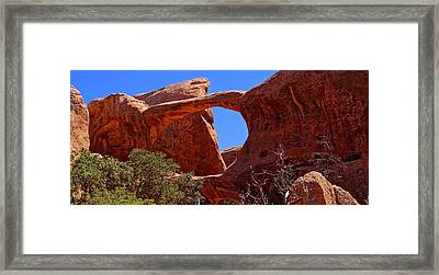 Double O Arch  Framed Print by Scott McGuire