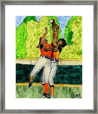 Double Play Framed Print by Phil Strang