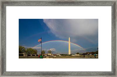 Double Promise Framed Print by Dan Wells