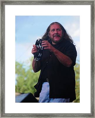 Doug Gray Framed Print by Mike Martin