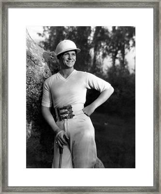 Douglas Fairbanks, Jr., 1930 Framed Print by Everett