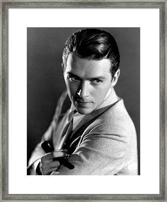 Douglas Fairbanks, Jr., 1933 Framed Print by Everett