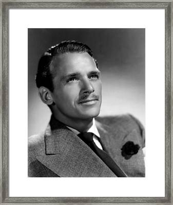 Douglas Fairbanks, Jr., 1939 Framed Print by Everett