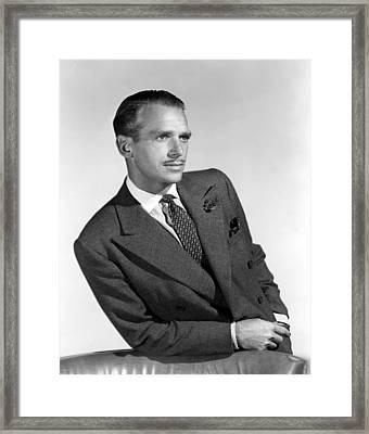 Douglas Fairbanks, Jr., 1949 Framed Print