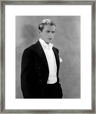 Douglas Fairbanks, Jr., Early 1930s Framed Print by Everett