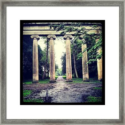 Dounle Tap To Teleport To Another Framed Print