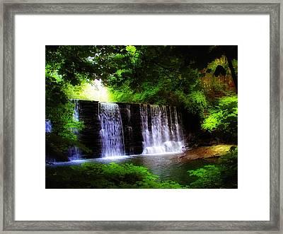 Dove Lake Falls Framed Print