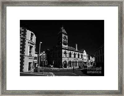 Down Arts Centre Center Old Town Hall Downpatrick County Down Ireland Framed Print by Joe Fox