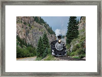 Down By The River Framed Print by Ken Smith