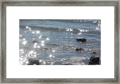 Down By The Water Framed Print by Lee Yang