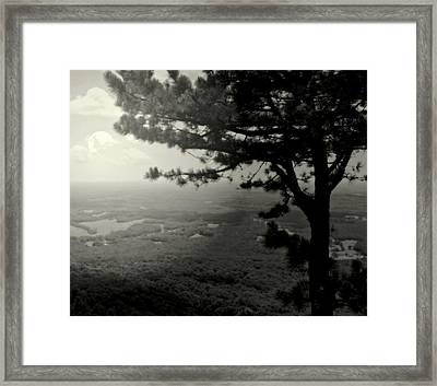 Down In The Valley Framed Print by Karen Wiles