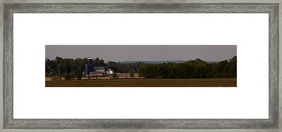 Framed Print featuring the photograph Down On The Farm by John Crothers