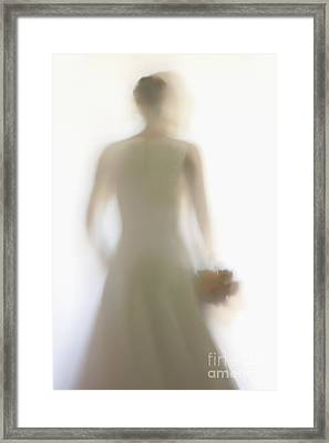 Down The Aisle Framed Print by Margie Hurwich
