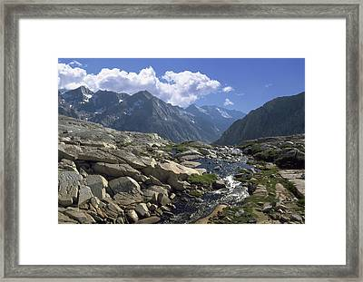 Down To  Kings River Framed Print