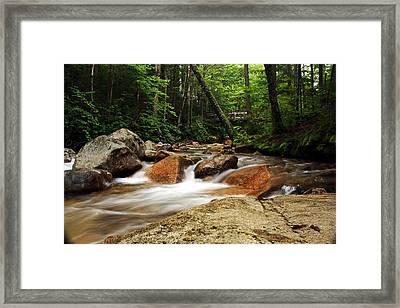 Downstream At The Basin Framed Print by David Gilman