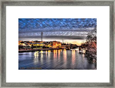 Downtown Batavia Illinois Framed Print by Dan Crosby