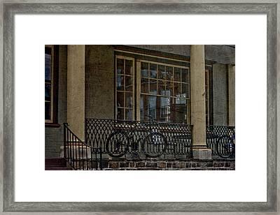 Downtown Boyertown Framed Print by Trish Tritz