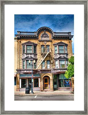 Downtown Building IIi Framed Print by Steven Ainsworth